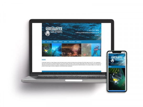 Underwater Solutions Website