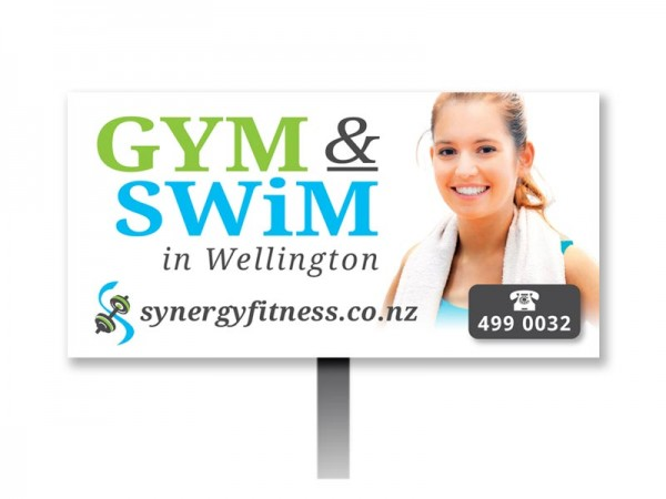 Synergy Gym & Swim Billboard