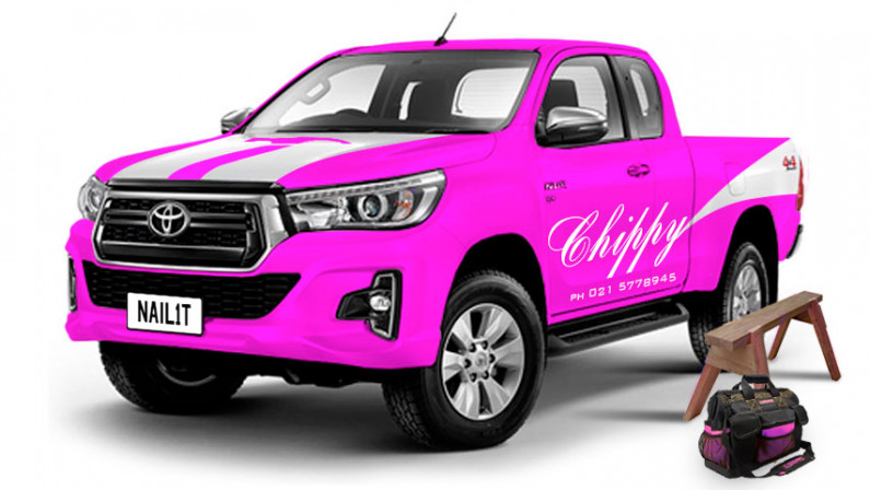 Funky Pink Hilux